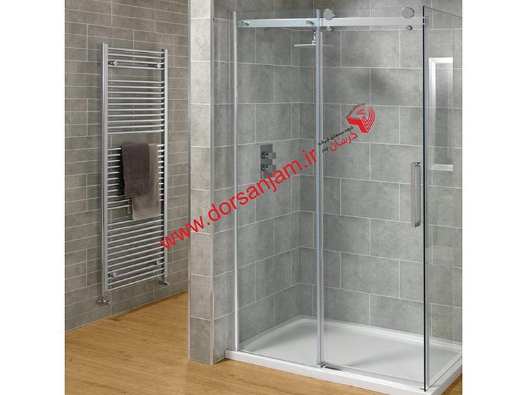 شیشه دور دوشی | شیشه حمام | شیشه جلوی وان