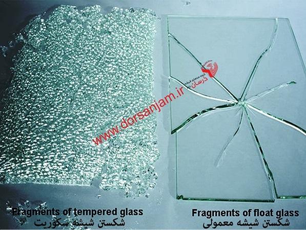 شیشه سکوریت,شیشه نشکن,شیشه میرال