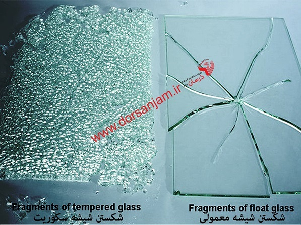 شیشه سکوریت درسان جام