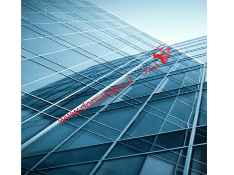 کاربرد شیشه نشکن روی نمای شیشه ای