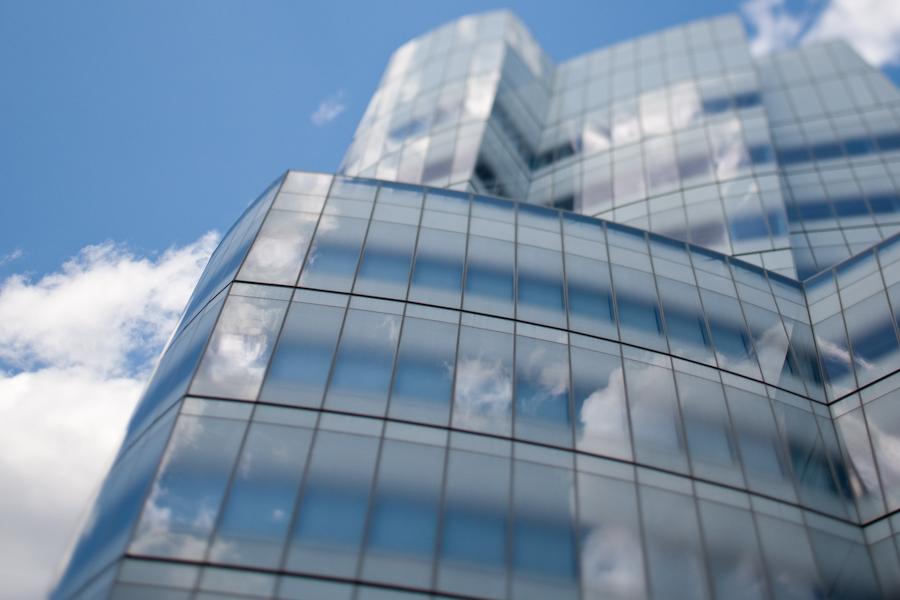نمای شیشه ای
