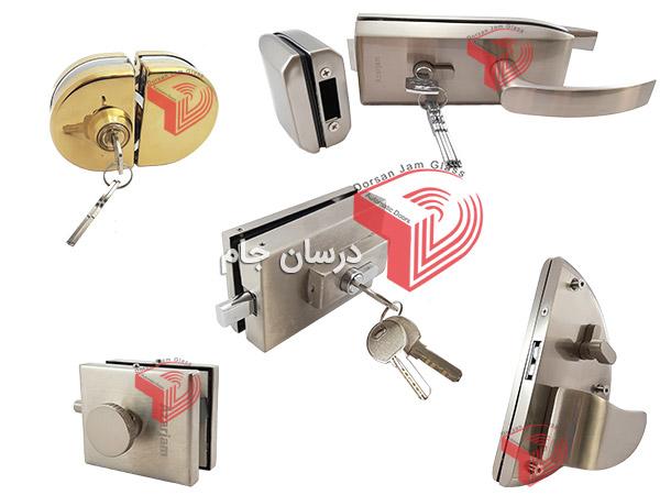 فروش انواع قفل شیشه سکوریت