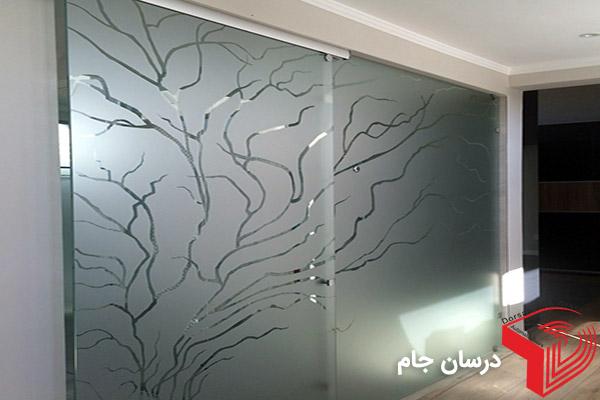 انواع طرح سندبلاست شیشه